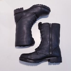Madden Girl Combat Boots size 7